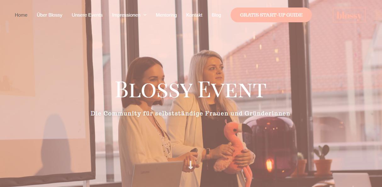 Kundenprojekt Blossy Event
