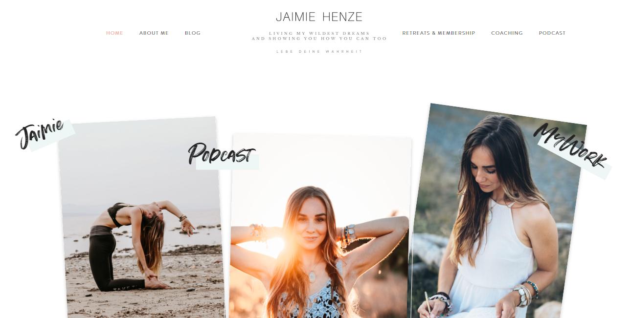 www.jaimiehenze.com